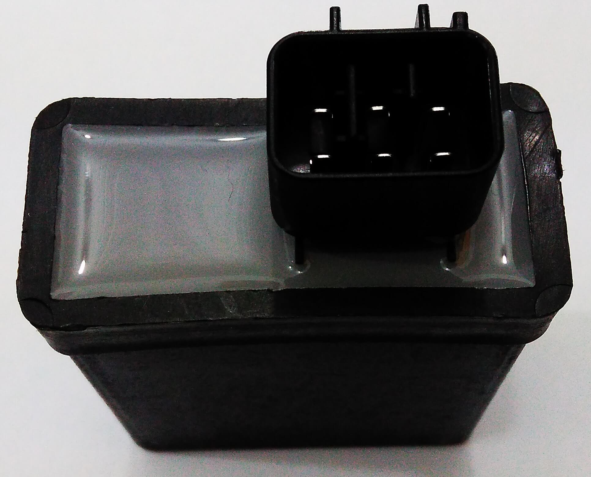 Central da Ignição CDI Modelo Similar Original Yamaha XTZ 125 (2006+) (Conector c/ 4 fios)