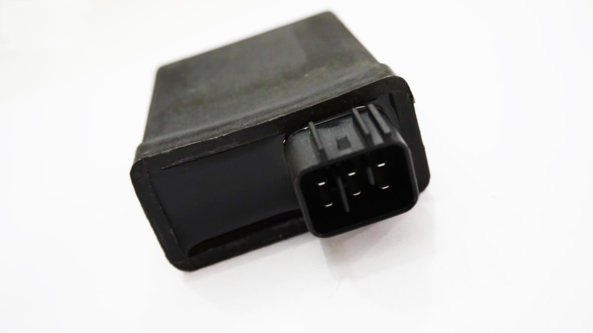 Central da Ignição CDI Modelo Similar Original Yamaha XTZ 125 (Até 2005) (Conector c/ 6 fios)