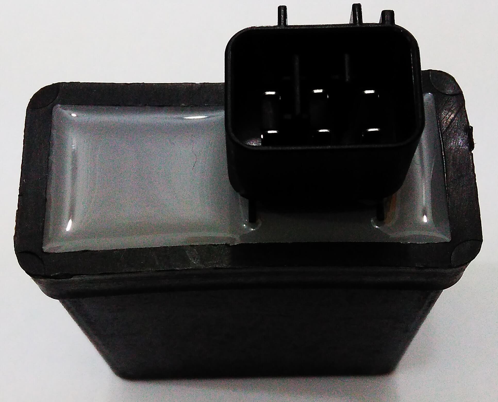 Central da Ignição CDI Modelo Similar Original Yamaha YBR 125 (2006+) (conector c/ 4 fios)