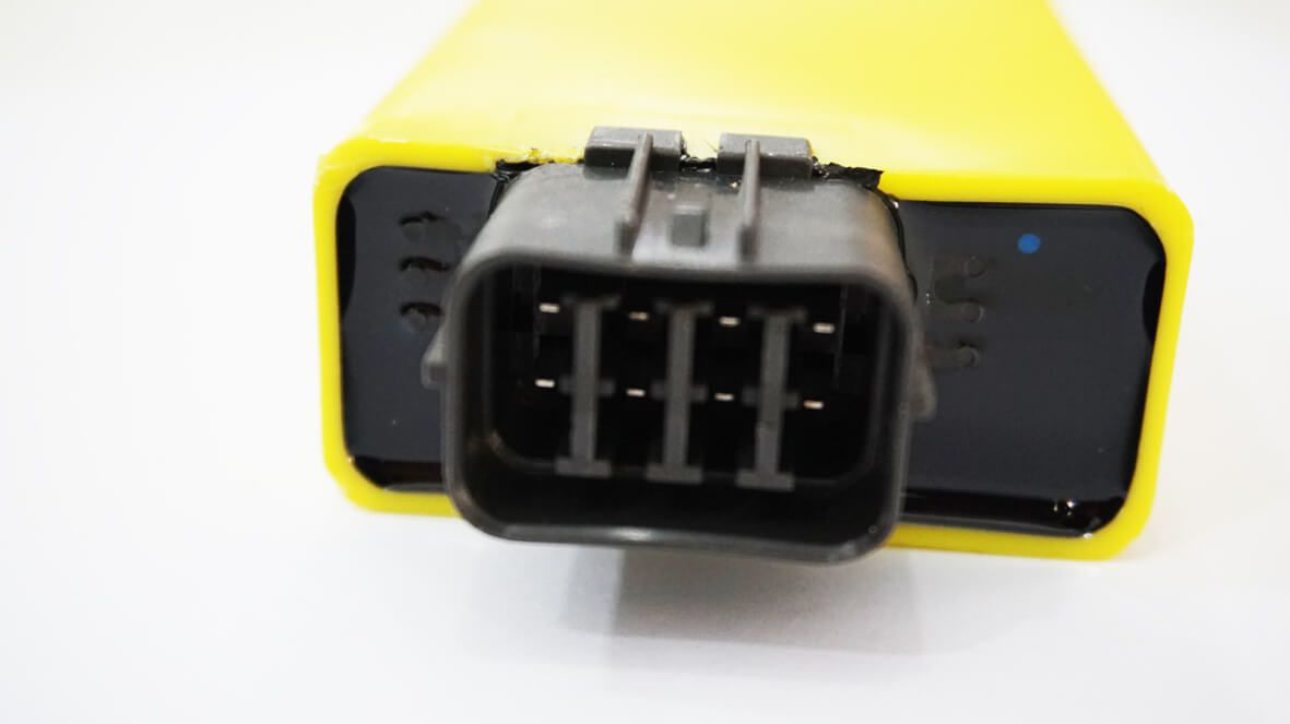 Central da Ignição CDI Modelo Racing Honda CBX 250 Twister c/ corte de giros 11200 Rpm
