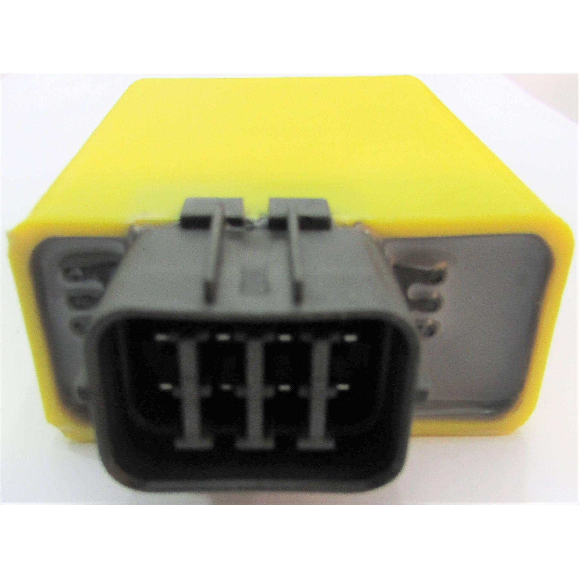 Central da Ignição CDI Modelo Racing Honda NX4 FALCON 400 c/ corte de giros 10800 Rpm