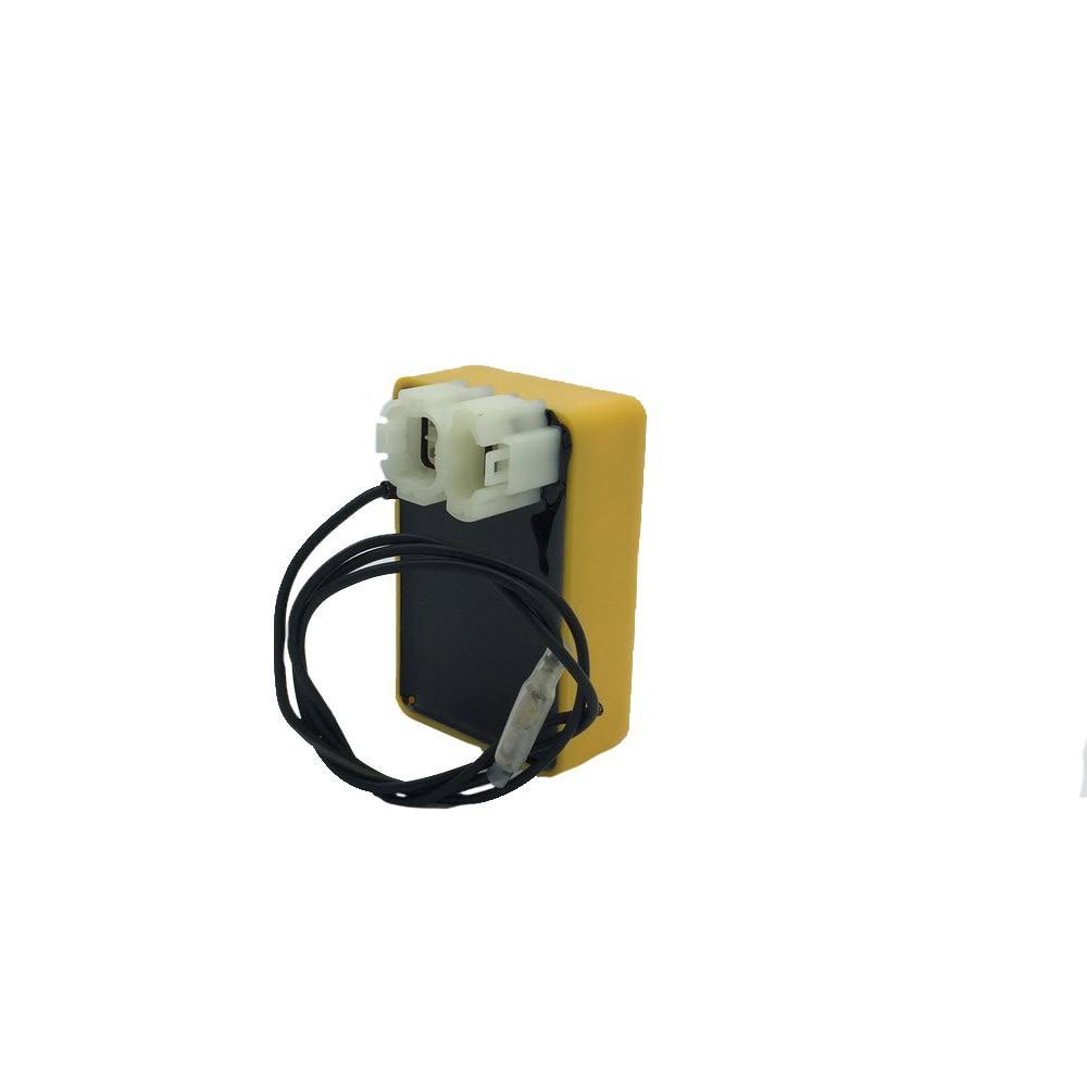 Central da Ignição CDI Modelo Racing Honda CRF 230 c/ corte de giros em 10800 Rpm alimentado 12V Bateria