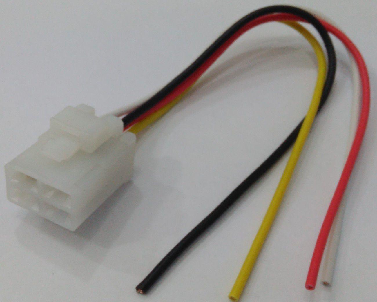 Chicote Regulador Retificador Yamaha XTZ / YBR / NEO