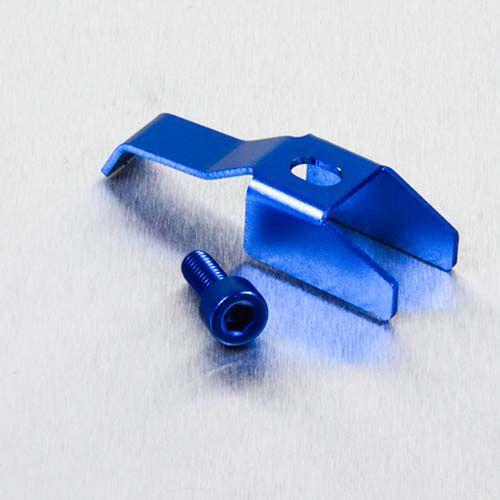 Clip da tampa de reservatorio azul