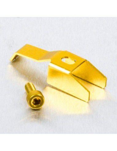 Clip da tampa de reservatorio dourado