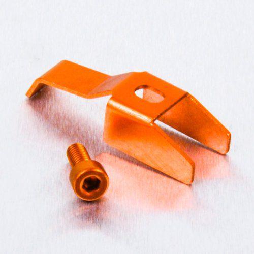 Clip da tampa de reservatorio laranja