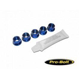 Conjunto de Porcas da coroa BMW S1000RR TITANIUM 12mm 5 unid Azul