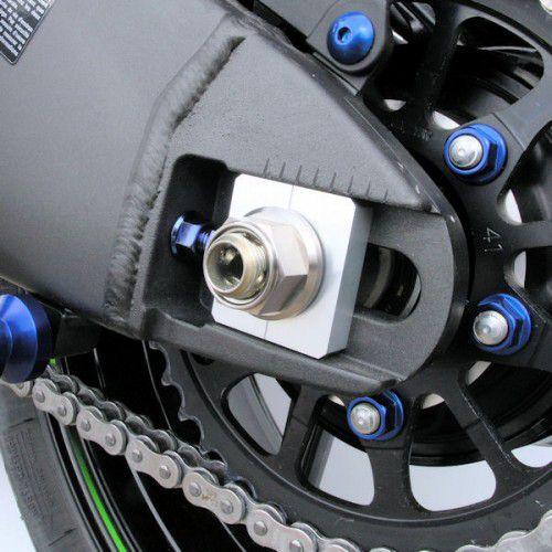 Conjunto de Porcas da coroa BMW S1000RR TITANIUM 12mm 5 unid Roxo