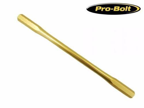 Haste do cambio de marchas M6/M6 170mm dourado