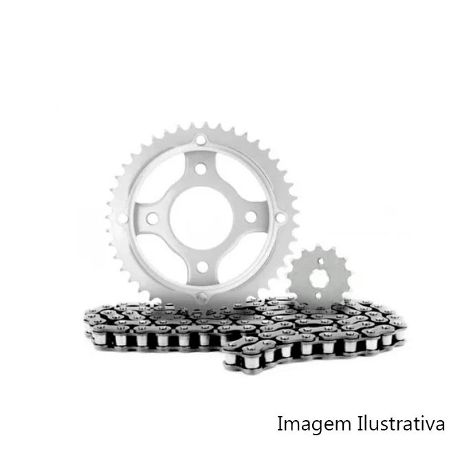 KIT CG 150 TITAN (04-15) / CG 150 FAN (09-15) / CG 150 START (14-15) / CG 150 CARGO (14-15) 43Z X 16Z C/ CORRENTE 428H X