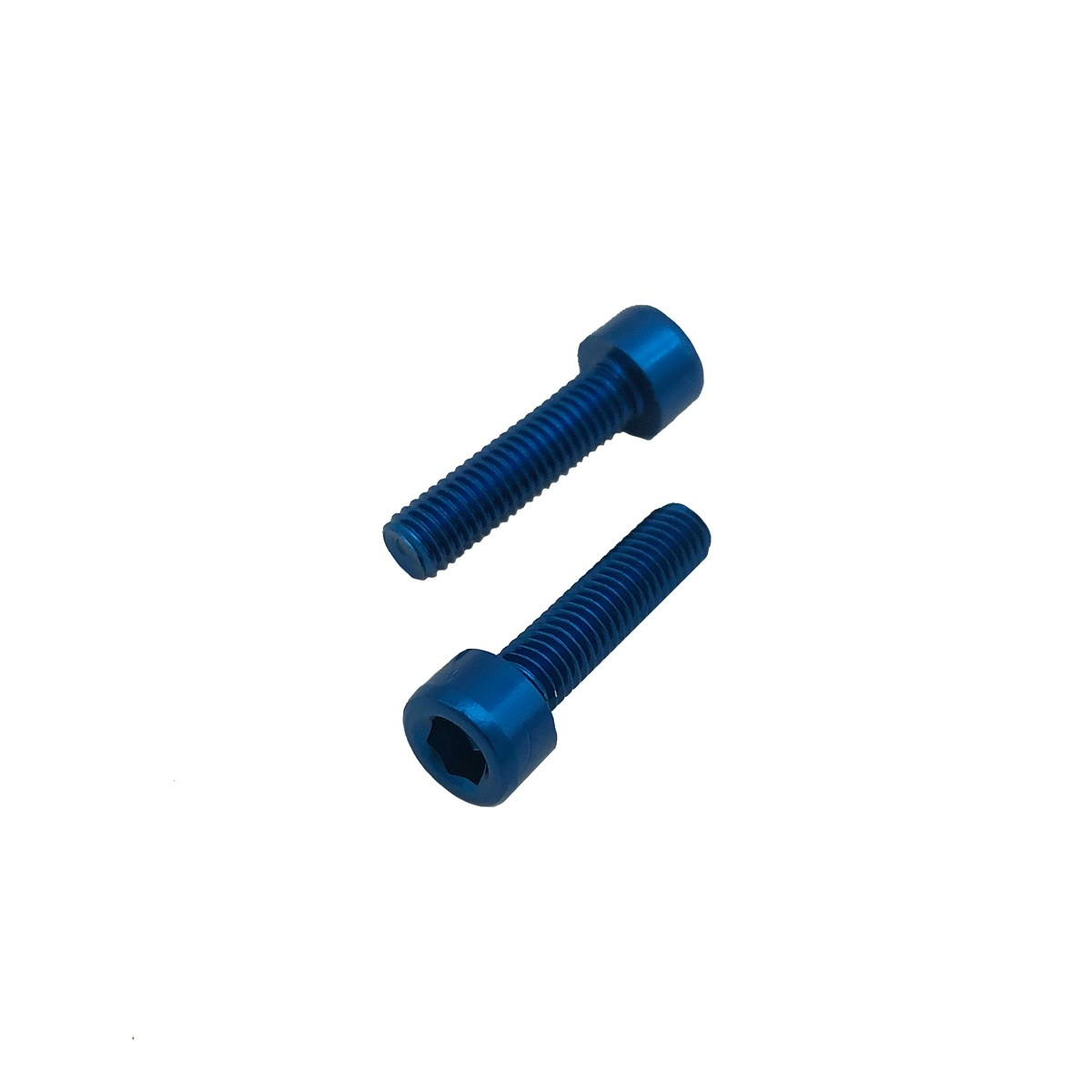 Parafuso Allen de Aluminio Socket Cap M5 x 12mm Unidade Azul