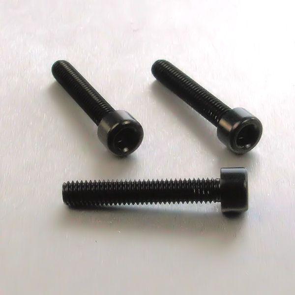 Parafuso Allen de Aluminio Socket Cap M6 x 35mm Preto