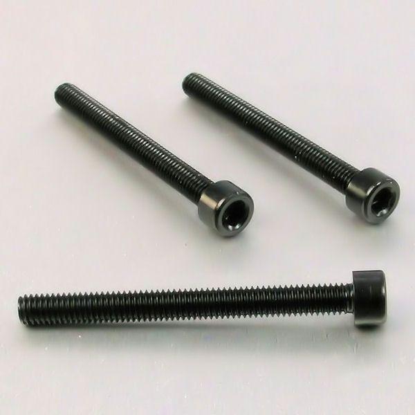 Parafuso Allen de Aluminio Socket Cap M6 x 60mm Preto
