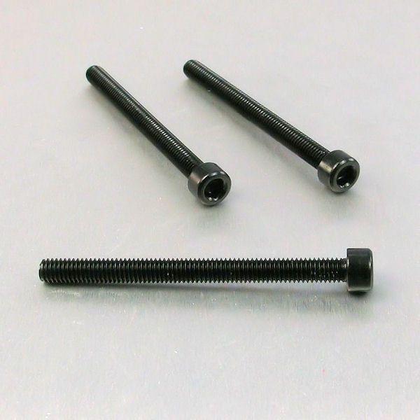 Parafuso Allen de Aluminio Socket Cap M6 x 70mm Preto