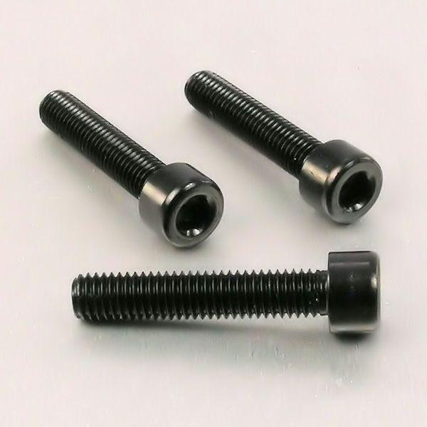 Parafuso Allen de Aluminio Socket Cap M8 x 40mm Preto