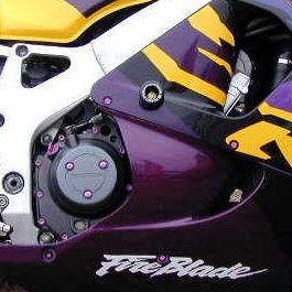 Parafusos da carenagem Honda CB600F Hornet 07+ Dourado