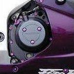 Parafusos da carenagem Honda CBR1000RR 06-07 Vermelho