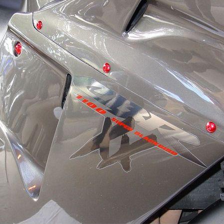 Parafusos da carenagem Honda CBR1000RR 08+ Azul