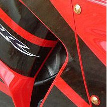 Parafusos da carenagem Honda CBR1000RR 08+ Laranja
