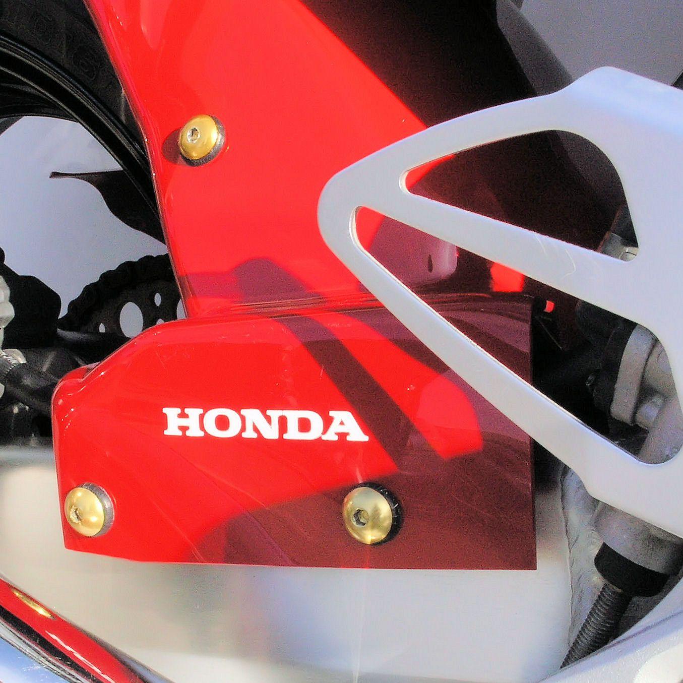 Parafusos da carenagem Honda CBR600RR 07-10 Vermelho