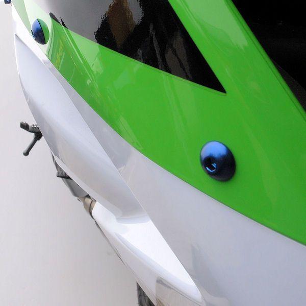 Parafusos da carenagem Kawasaki Ninja 250R 08+ Azul