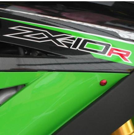 Parafusos da carenagem Kawasaki Ninja ZX10R 08-10 Vermelho