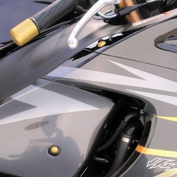Parafusos da carenagem Suzuki GSX1300 Hayabusa 12+ Nova Dourado