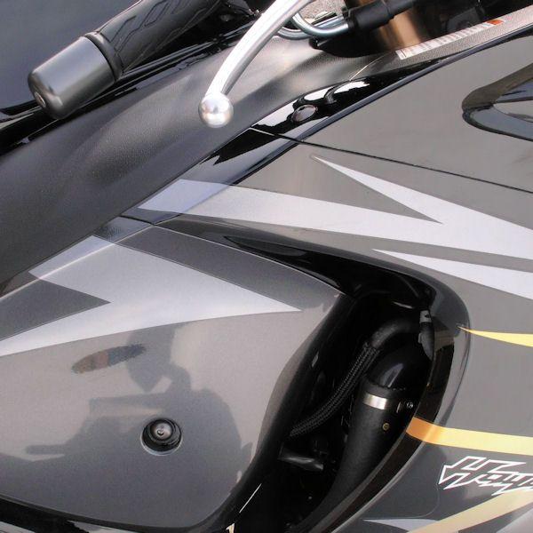 Parafusos da carenagem Suzuki GSXR600-750 K6-K10 (07/13) Dourado