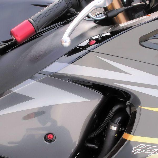 Parafusos da carenagem Suzuki GSXR600-750 K6-K10 (07/13) Vermelho