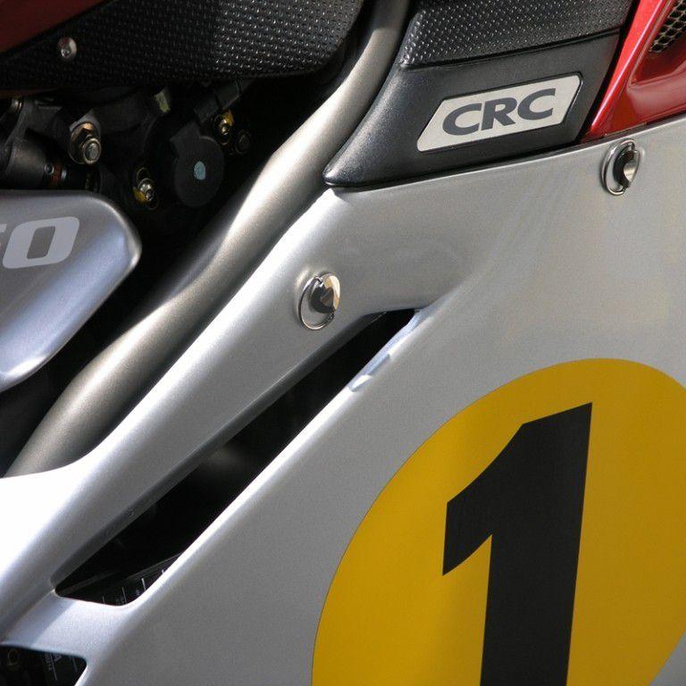 Parafusos da carenagem Yamaha R1 BigBang 09+ Quick Release Vermelho