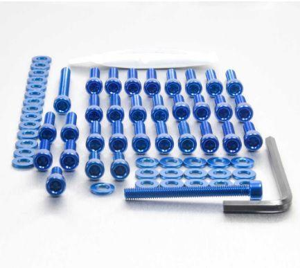 Parafusos da tampa do motor BMW S1000RR 10+ Azul