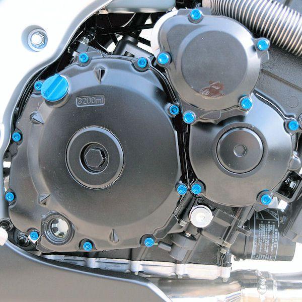 Parafusos da tampa do motor Honda CBR1000RR 08+ Azul