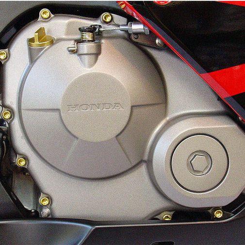 Parafusos da tampa do motor Honda CBR1000RR 08+ Dourado