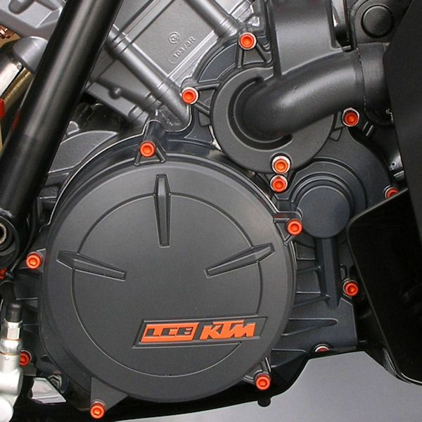 Parafusos da tampa do motor Honda CBR1000RR 08+ Laranja