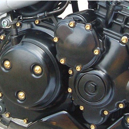 Parafusos da tampa do motor Kawasaki Ninja ZX10R 08-10 Dourado