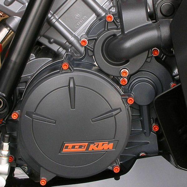 Parafusos da tampa do motor Suzuki GSX1300 Haybusa 08+ Laranja