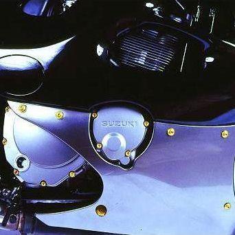 Parafusos da tampa do motor Suzuki GSXR1000 09-11 Dourado