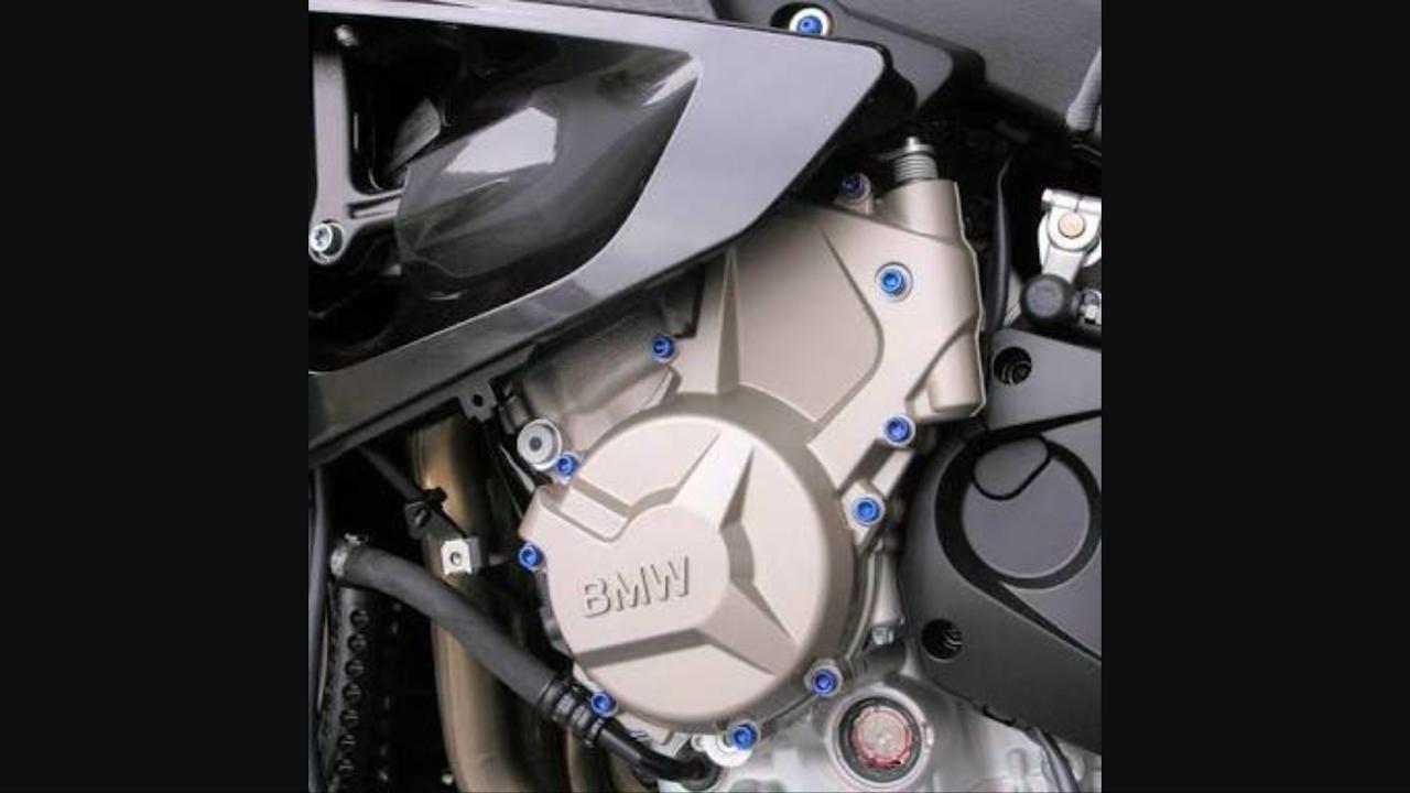 Parafusos da tampa do motor Yamaha R1 BigBang 09+  Azul