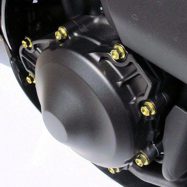 Parafusos da tampa do motor Yamaha R1 BigBang 09+ Kit Racing Dourado