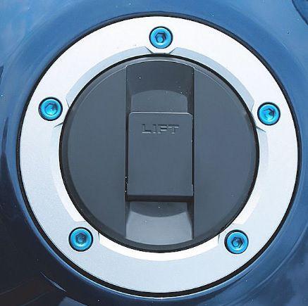 Parafusos tampa de tanque Suzuki GSXR / HAYABUSA Azul