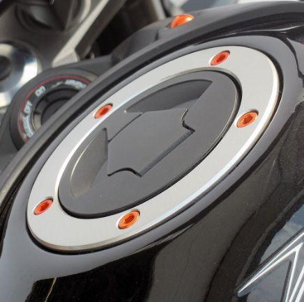 Parafusos tampa de tanque Suzuki GSXR / HAYABUSA Dourado
