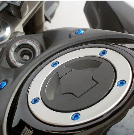 Parafusos tampa de tanque Yamaha R1/R6 Azul