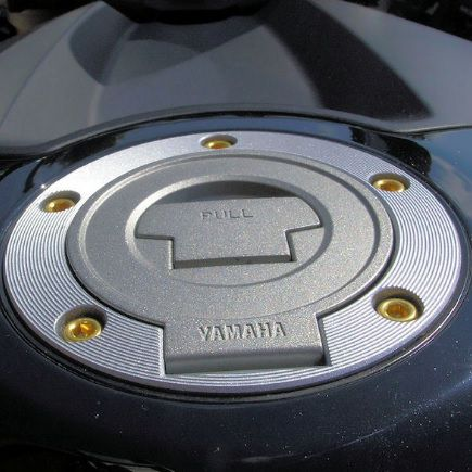 Parafusos tampa de tanque Yamaha R1/R6 Dourado