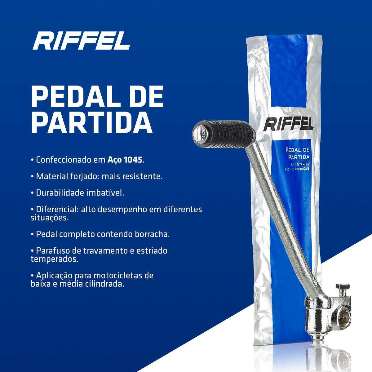 PEDAL DE PARTIDA TITAN CG 150/BROS 150