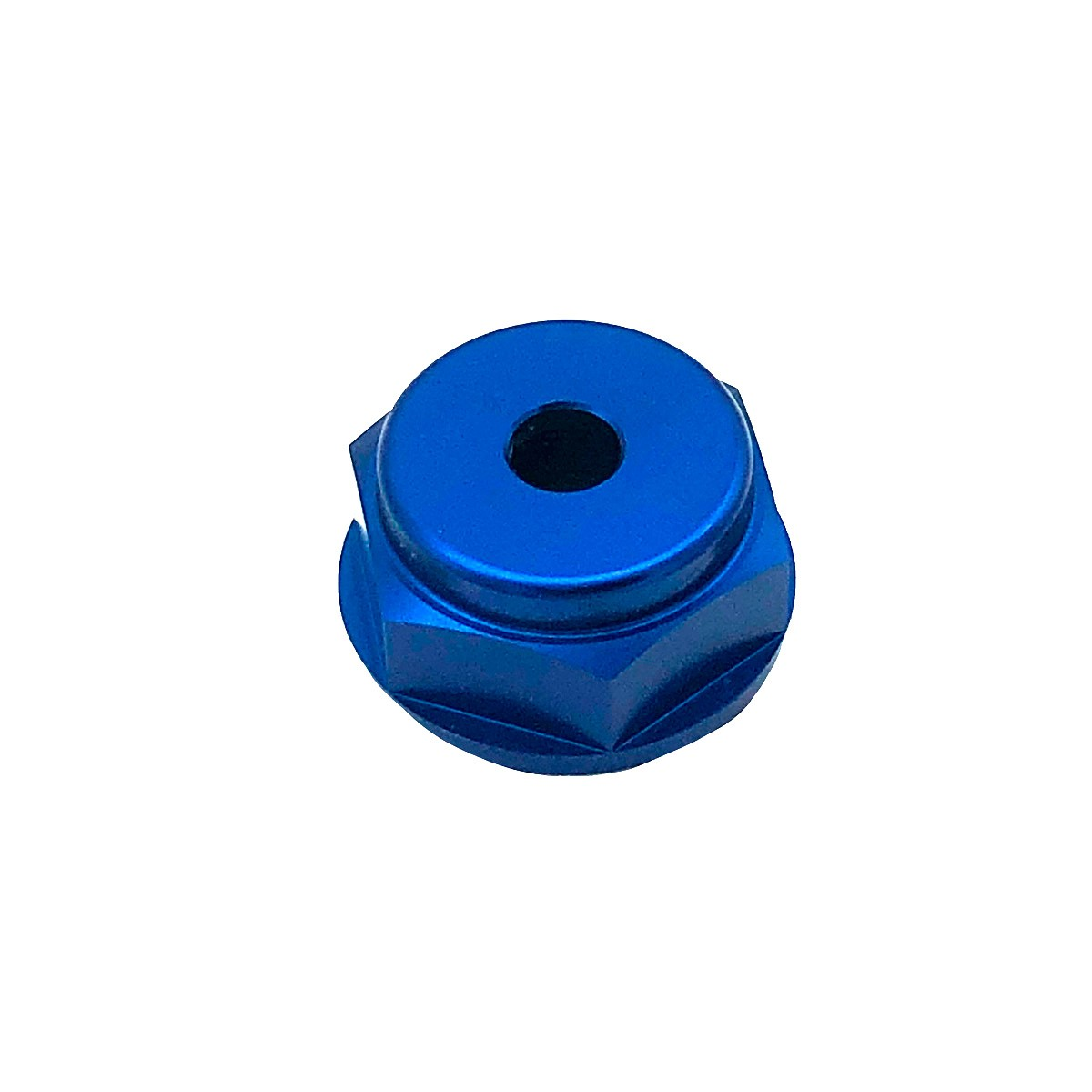 Porca central da mesa 24mm x 1.00mm Furo Central Honda Azul