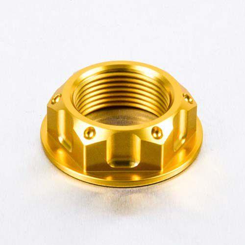 Porca central da mesa 24mm x 1.50mm Vazado GSXR / Hayabusa Dourado