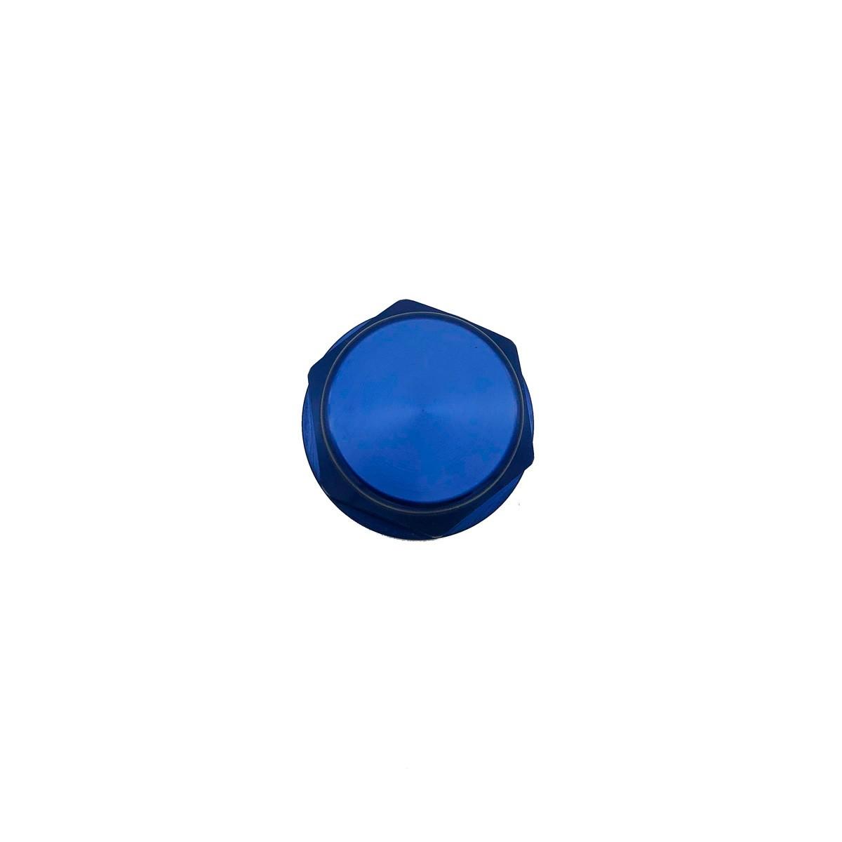 Porca central da mesa 28mm x 1.00mm Fechada Azul