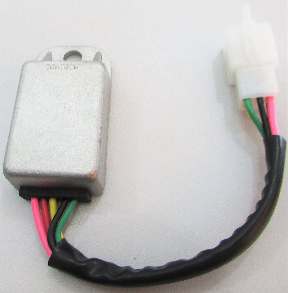 Regulador Retificador Bateria Honda XL 250R / XLX 250 / XLX 350 (5 Fios)