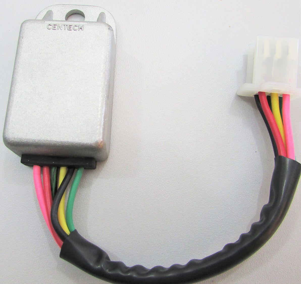 Regulador Retificador Honda Turuna (1983+) / ML (1985+) / XL 125 S (6 fios)