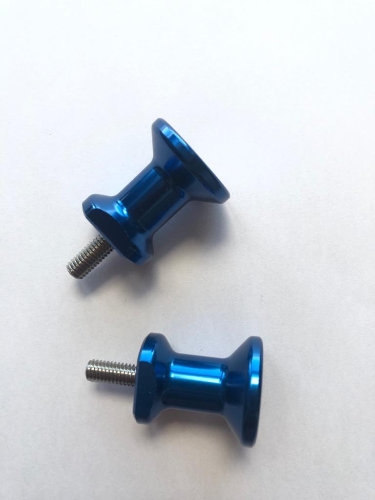Slider Spool De Balança Pequeno Yamaha Azul